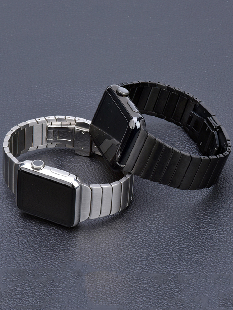 Stainless Steel strap for Apple Watch band 44mm 40mm iWatch band 42mm/38mm Butterfly