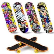 Haute qualité mignon fête faveur enfants enfants Mini doigt touche alliage Skate embarquement jouets cadeau aléatoire