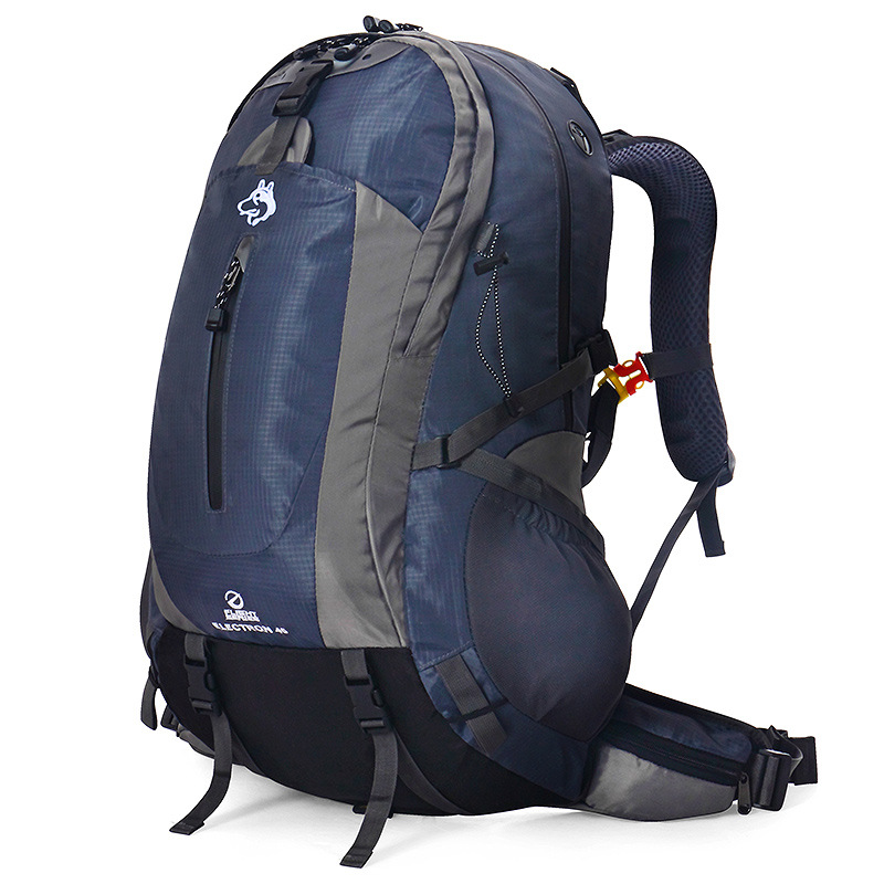 Hot Selling Mountaineering Bag Customizable Outdoor Riding Backpack Men And Women Sports Casual Travel Hiking 45L Backpack 6-Col