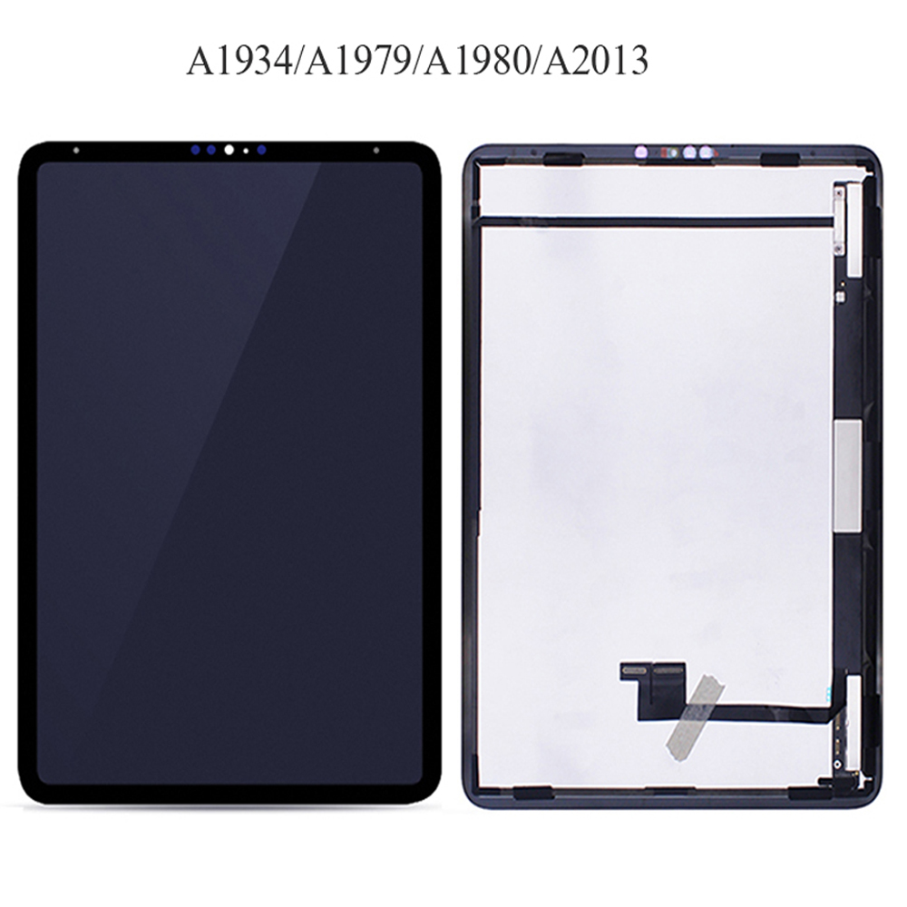 AAA LCD For Apple iPad Pro 11 2018 A1980 A1934 A1979 LCD Display Touch Screen Digitizer Assembly For iPad Pro 11 LCD Replacement