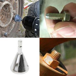 Image 5 - 1*CR12MOV High Strength Hardness Drill Bit Remove Burr Deburring External Chamfer Tool Silver Hex shank