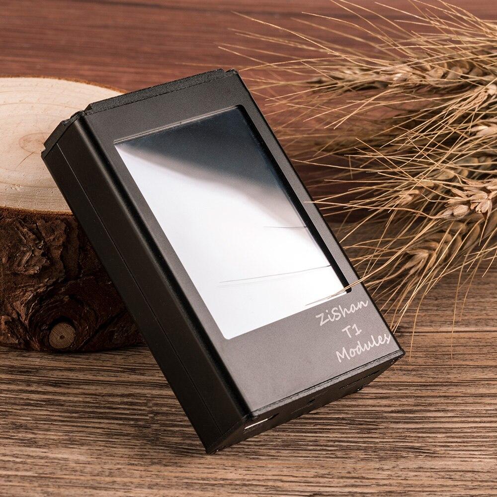 Nouveau Zishan T1 Dual AK4493EQ DSD lecteur MP3 professionnel sans perte HiFi portable lecteur MP3 Solution dure amplificateur équilibré Z2 Z3 - 6
