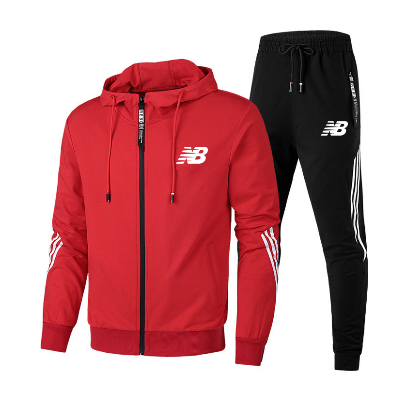 Free shipping Men Autumn Tracksuit zipper Hoodie+Pants Two Piece Set Casual Sportswear Running Suit Fitness Pullover Sweatshirt
