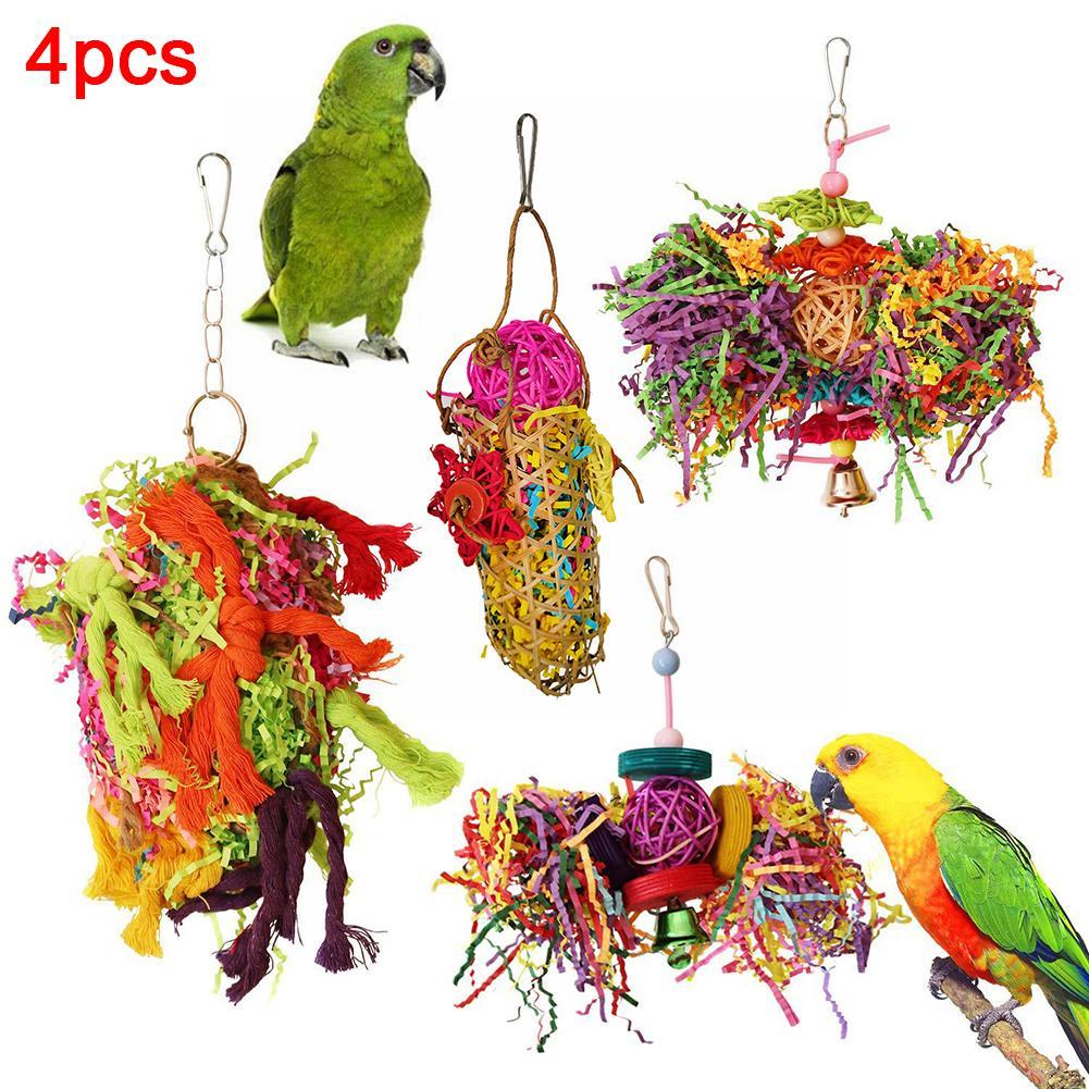 4 Uds pájaro campana de cuerda de algodón bloques bola jaula colgante decoración del perro de juguete BOBO BIRD, relojes de madera de estilo Simple para hombre, relojes de pulsera de cuarzo, regalos para hombres, reloj de pulsera con logotipo personalizado de erkek kol saati