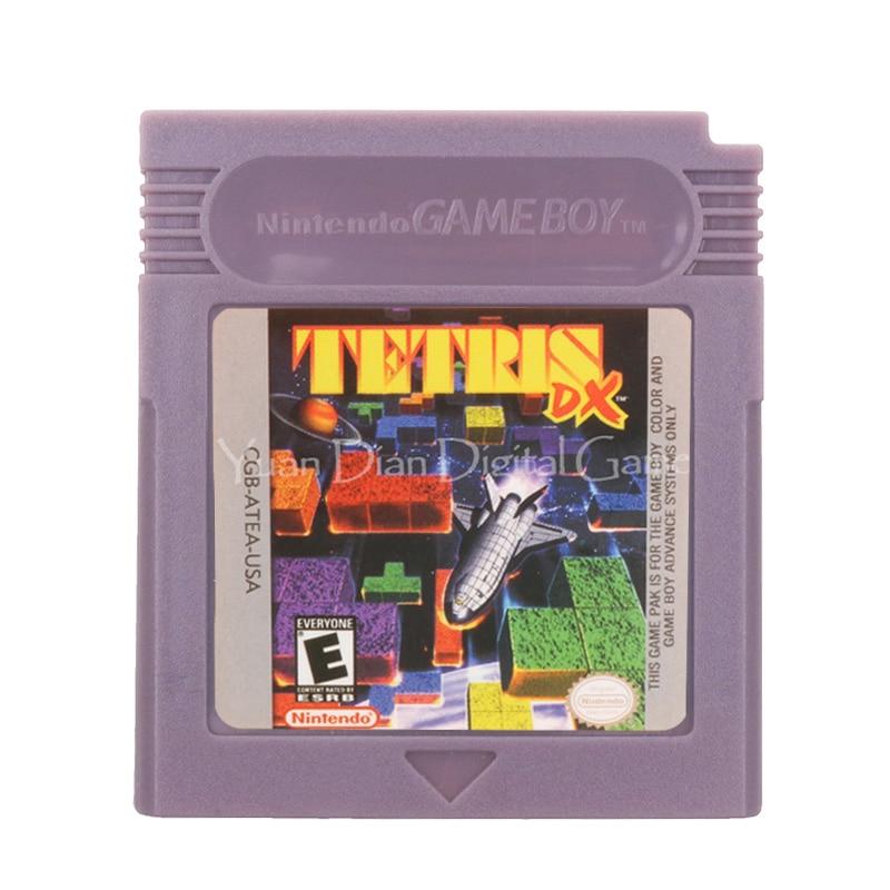 For Nintendo GBC Video Game Cartridge Console Card Tetris English Language Version 1