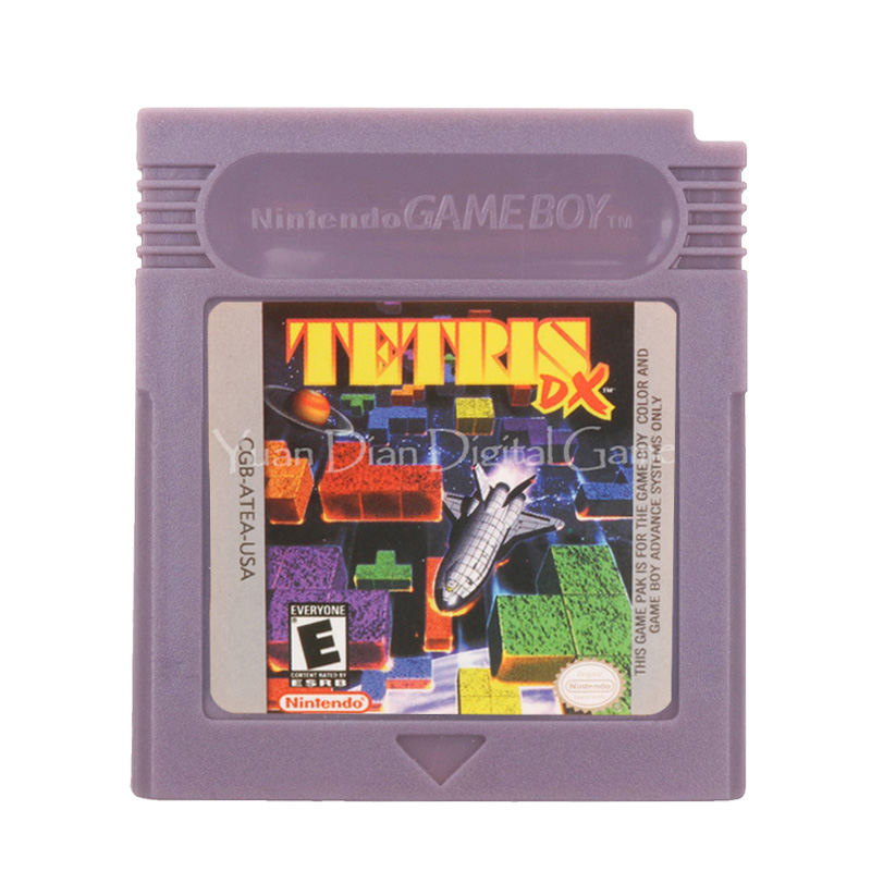 For Nintendo GBC Video Game Cartridge Console Card Tetris English Language Version