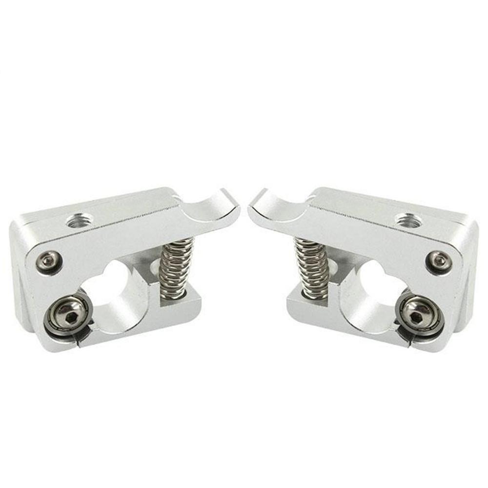 MK10 Remote Direct Extruder 3D Printer Parts Aluminum Block Bowden Extruders 1.75mm Filament Right Left Hand Arm