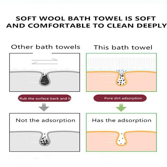 Deep Cleaning Bath Shower Silicone Body Brush Bath Belt Exfoliating Back Brush Belt Wash Clean 28'' Bath Scrub Belt Beauty Tools 4