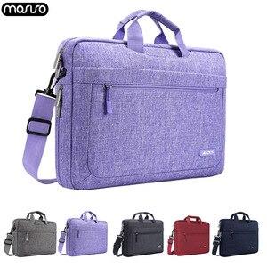 Mosiso 17.3 15.6 14 13.3 notebook notebook notebook bolsa de ombro caso para macbook ar pro 13 15 dell hp acer portátil sacos do mensageiro para mulheres masculinas