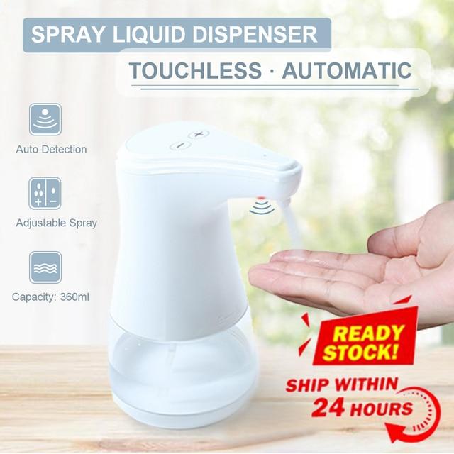 אוטומטי סבון Dispenser תרסיס מנפק נוזל חיטוי ערפל Touchless יד מעקר אינפרא אדום Motion חיישן Dispenser