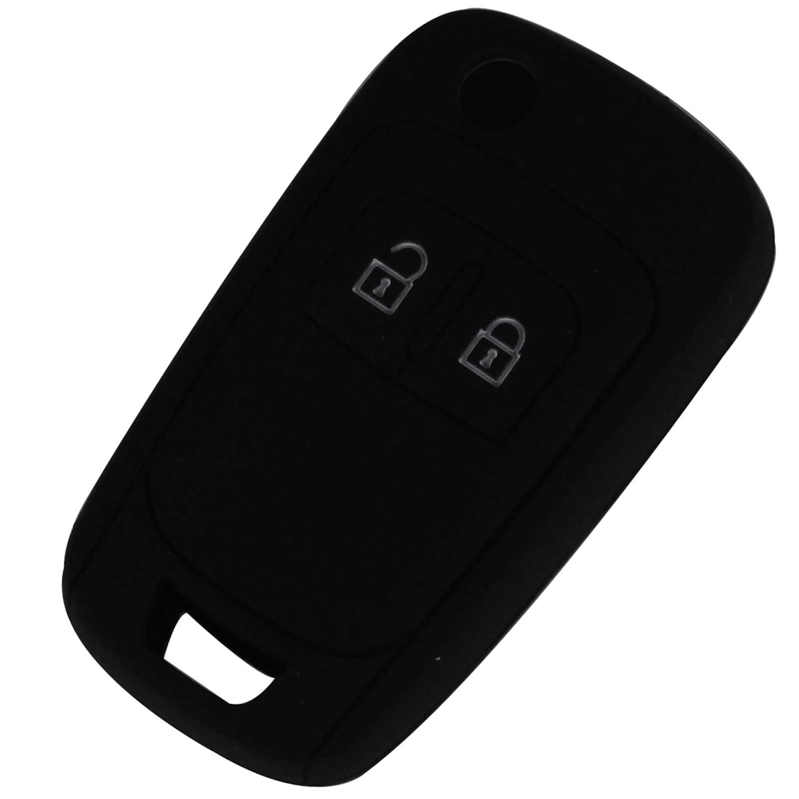 Bilchave 2 ปุ่มรีโมทซิลิโคนพับรถฝาครอบสำหรับ Chevrolet Cruze ผู้ถือ Key Protector