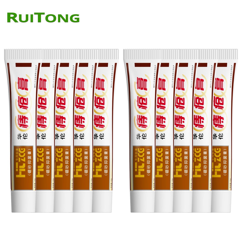 10Pcs HuaTuo Hemorrhoids Ointment Herbal Materials Powerful Cream External Anal Fissure Internal Mixed Hemorrhoids Drop Shipping