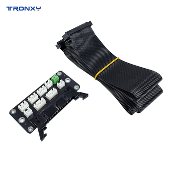 Akcesoria do drukarek 3D Tronxy trwała płytka przyłączeniowa części do drukarek 3D z przewodem 82cm 30Pin kompatybilny z XY-2 Pro X5SA Series tanie i dobre opinie CN (pochodzenie) Płyty łączenia for XY-2 Pro X5SA Series
