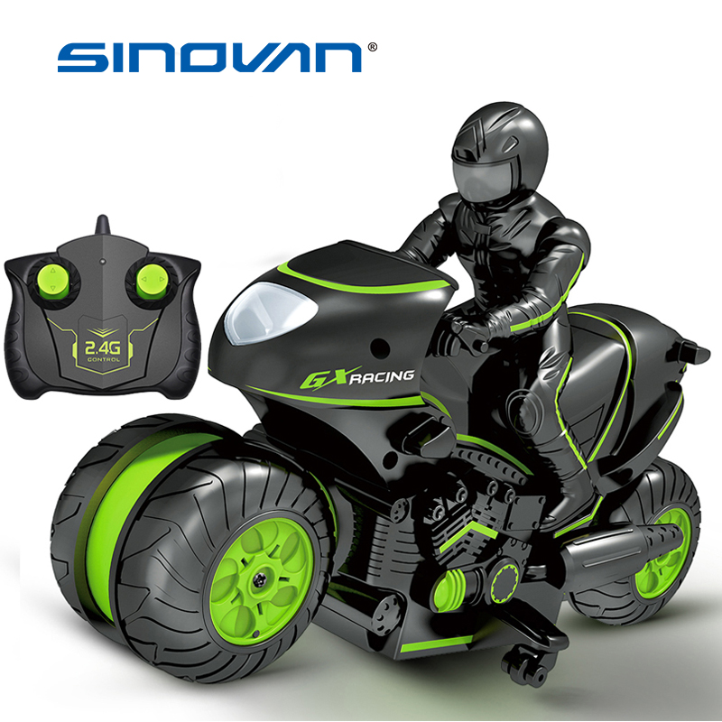 Kids Motorcycle Electric Remote Control RC Car Mini Motorcycle 2.4Ghz Racing Motorbike Boy Toys For Children