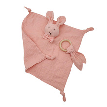 Baby Comforter Blanket Soothing Towel Newborn Security Blankets Soft Bunny Rabbit Doll Baby Toys Handkerchief 0-24 Months