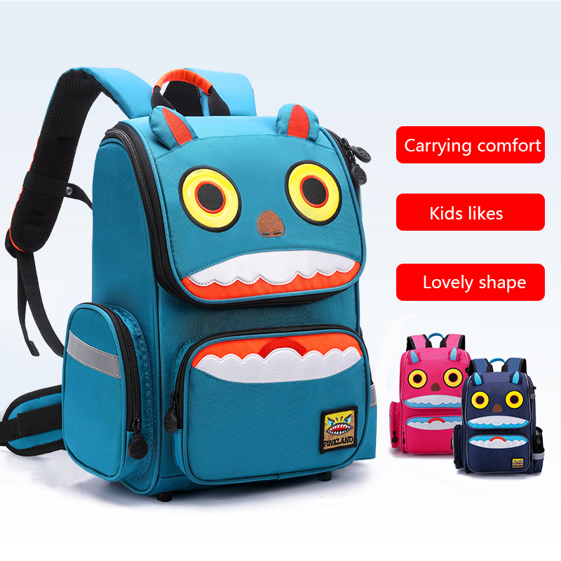 NEW Cartoon Pupil Students Boys//Girls Kids School Book Bags Backpacks 6-12Years