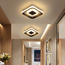 Modern Led Ceiling Lights For Living Room Bedroom Study Corridor White+black color surface mounted Lamp 2019 New