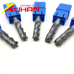 HRC50 1 2 3 4 5 6 8 10 Carbide end mill Milling cutting Tools Alloy Tungsten Steel Milling Cutter EndMills CNC machine end mills