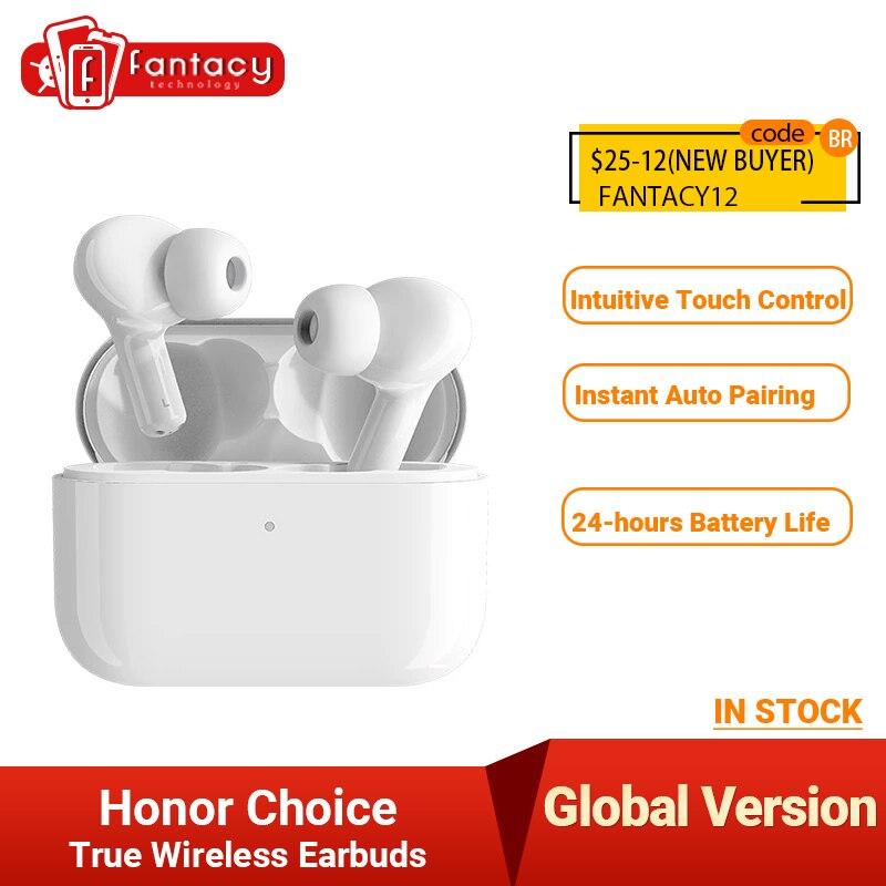 Глобальная версия Honor Choice наушники X1 TWS Беспроводные наушники с двойным микрофоном и шумоподавлением Bluetooth 5,0