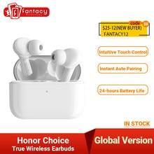 Honor Choice – écouteurs sans fil Bluetooth 5.0, oreillettes X1 TWS, double microphone, réduction du bruit, Version globale