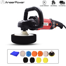6Speed Adjustable 220V Car Polishing 1400W Disc Polisher Machine Electric Cars Polisher Waxing Machine Furniture Polishing Tools