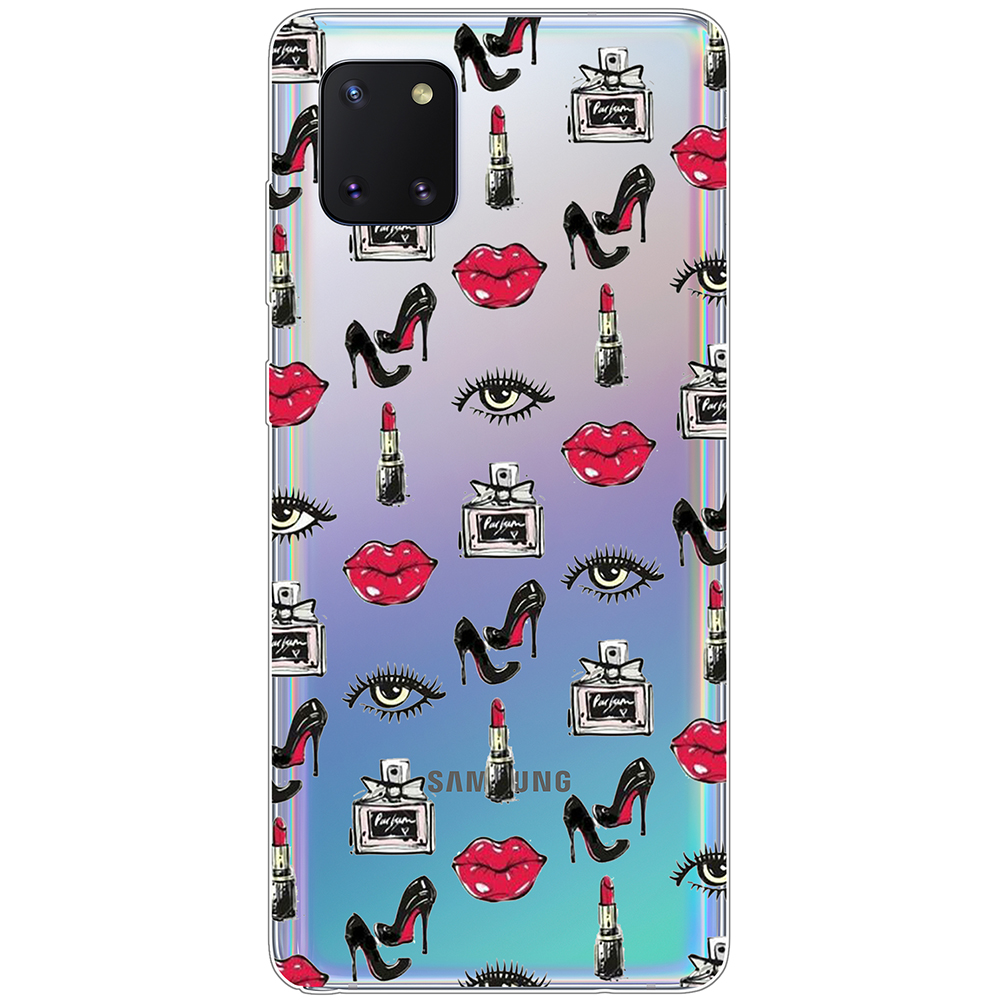 Case For Samsung Galaxy Note10 Lite Transparent Fashion Pattern On Note 10 Lite Case Tpu Soft Non Slip Dirt Resistant Back Cover