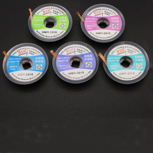 1 PCS Low Residue No-Clean Wire Width 1.5/2.0/2.5/3.0/3.5mm Length 1.5M Desoldering Braid Solder Remover Wick Wire Repair Tool