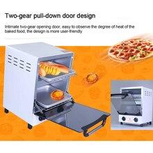 12л электрическая печь для завтрака, Мини домашняя Вертикальная печь для выпечки мяса, сладкого картофеля, хлеба, печей для пиццы, 0-60mins синхронизация 220 В/50 Гц