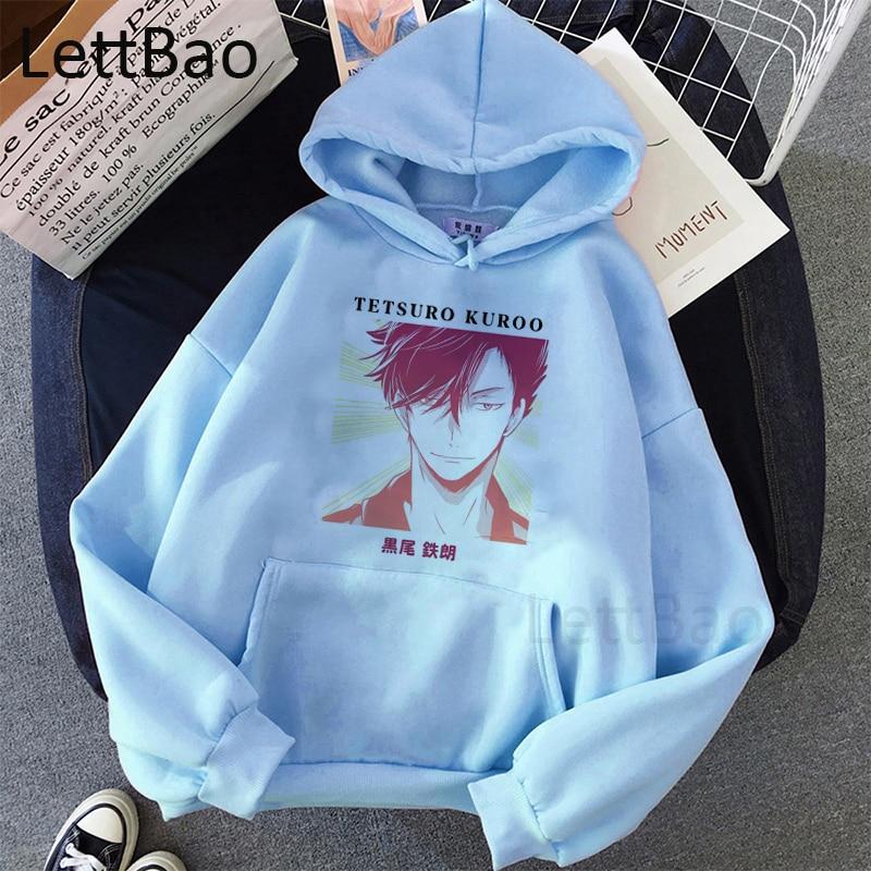 Haikyuu Kenma Kozume Kuroo Tetsuro Hoodies Women Men Hoodies Harajuku Japanese Anime Hoodies Streetwear Long Sleeve Sweatshirts 4