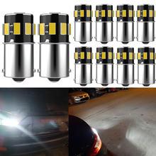 10x1156 ba15s 1157 автомобильная светодиодная лампа canbus парковочная