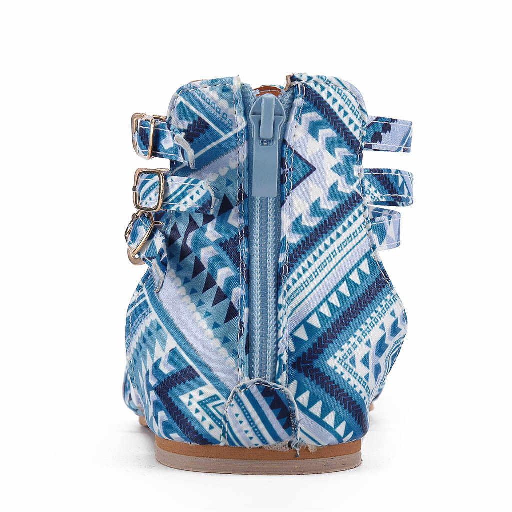 รองเท้าแตะ Gladiator ผู้หญิงลมแห่งชาติ Bohemian ขนาดใหญ่ความคมชัดรองเท้าแตะ sandalias de verano para mujer sandalia feminina