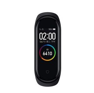 Image 5 - オリジナルxiaomi miバンド4スマート腕時計amoledカラー画面heartrateフィットネススポーツ50ATM防水スマートブレスレットのbluetooth 5.0