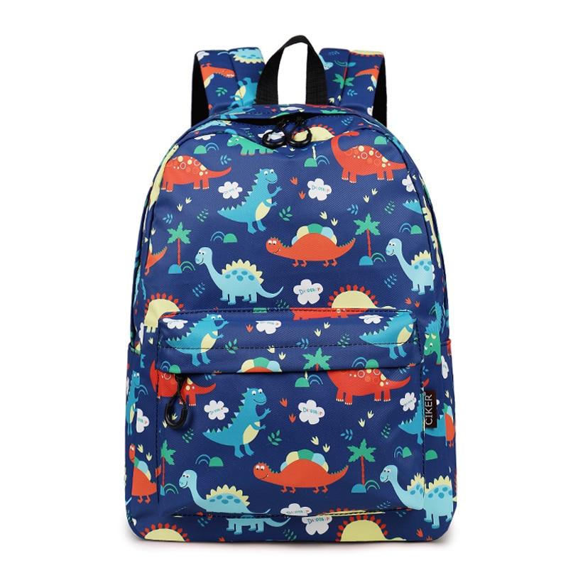 CIKER Backpack Cartoon Dinosaur Printed Backpack Student School Bags For Teenage Girls Boys Children Kids Backpack 2019