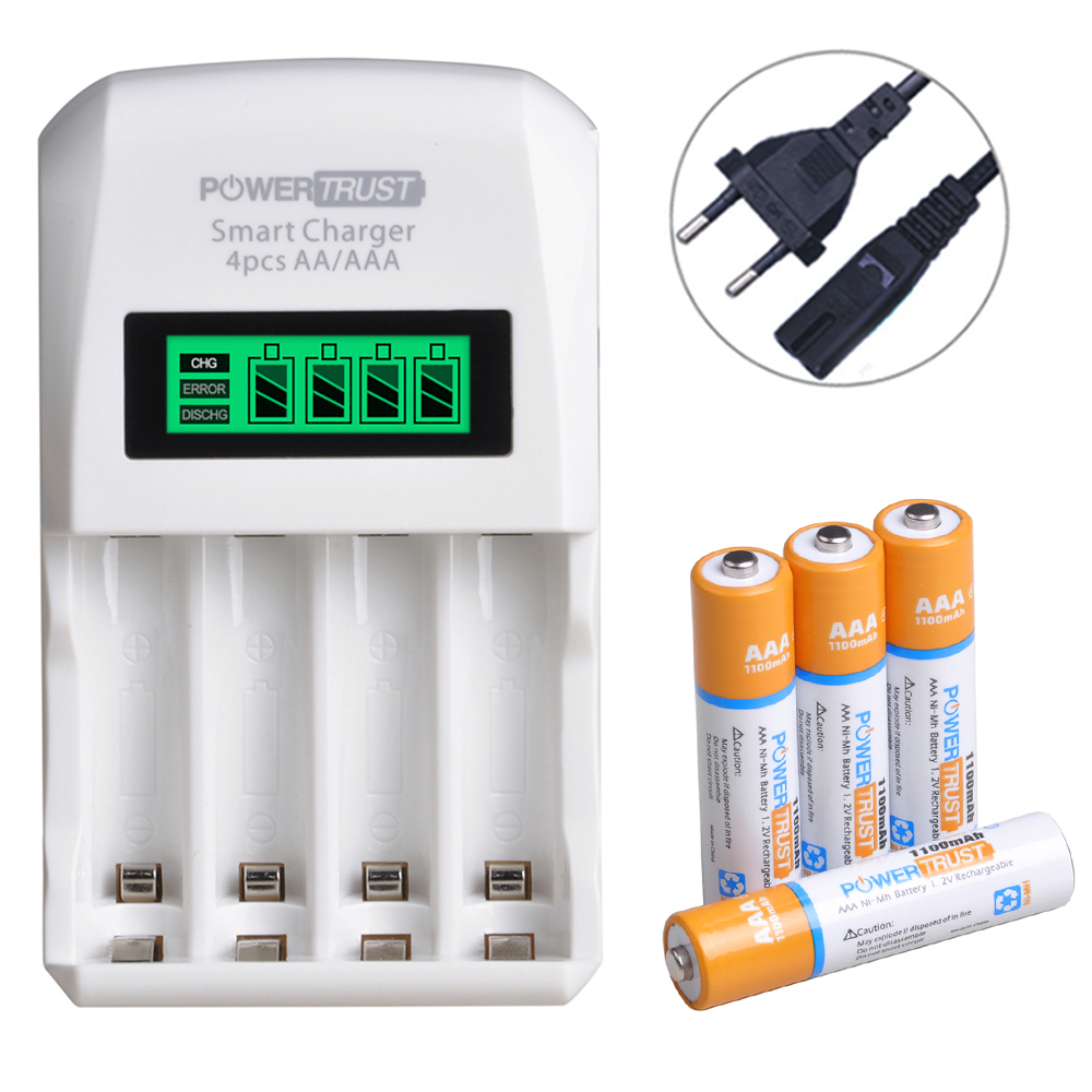 Olympus D-510Z Digital Camera Battery Charger Replacement for 4 AA NiMH 2800mAh Rechargeable Batteries with Charger