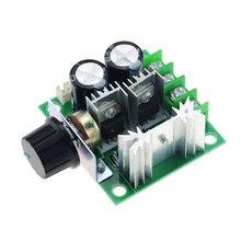 12V-40V 13KHz 10A otomatik dc motor hız kontrolörü regülatörü vali ile topuz anahtarı Volt regülatörü Dimmer 400W devre kartı modülü
