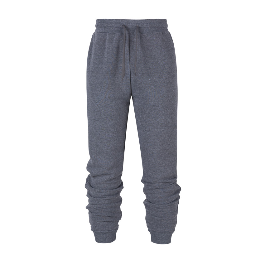 Brand Men's Winter Pants Men Sweatpants Joggers Pants Casual Trousers Thickened Pure Color Loose Males Track Pants Streetwear
