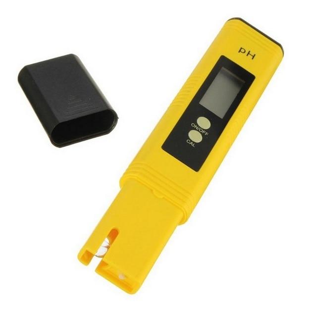 Фото цифровой ph метр с жк дисплеем измерительная ручка тестер точности