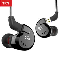 TRN V80 2BA+2DD Hybrid Metal In Ear Earphone HIFI DJ Monito Running Sport Earphone Earplug Headset im2\im1\ie80\x6\p1 1\T2\V30(China)