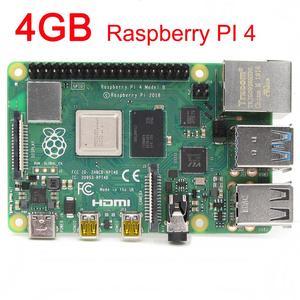 Image 1 - 4GB SDRAM פטל Pi 4 דגם B BCM2711 Cortex A72 64 קצת Quad core 1.5GHz SOC 2.4 & 5.0 GHz WiFi Bluetooth 5.0 פטל PI 4B