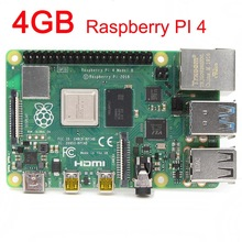 4GB SDRAM Raspberry Pi 4 Model B BCM2711 Cortex A72 64 bit Quad core 1.5GHz SOC 2.4 & 5.0 GHz WiFi Bluetooth 5.0 Raspberry PI 4B