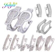 Juya, сделай сам, золото/серебро, креативный, базовый, ушной провод, швензы, серьги, крючки для женщин, Ali Moda, Подвесные серьги с кисточкой, материал для изготовления