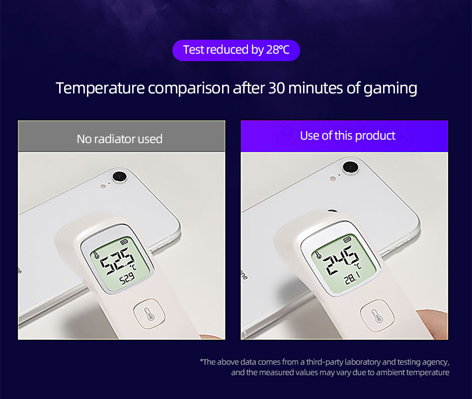 !ACCEZZ Portable Mobile Phone Cooler Heat Sink For iPhone 11 XS XR 8 7 Xiaomi Samsung Universal Gaming Cooling Fan Pad Radiator