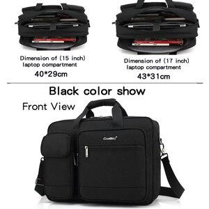 Image 3 - Coolbell New Big capacity 15 15.6 laptop man business shoulder bag Messenger bag for macbook PRO 15.4, 17 inch laptop briefcase