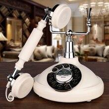 Disco giratorio teléfonos antiguos teléfono Retro antiguo moda Retro Vintage teléfono fijo antiguo