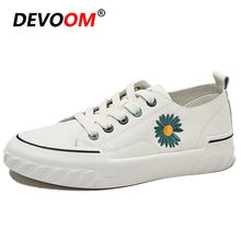 2020 Fashion White Sneakers Women Casual Shoes New Female Trainers Lace Up Ladie