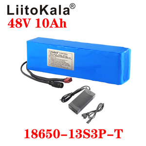 Image 2 - LiitoKala e bike battery 48v 10ah li ion battery pack bike conversion kit bafang 1000w and charger