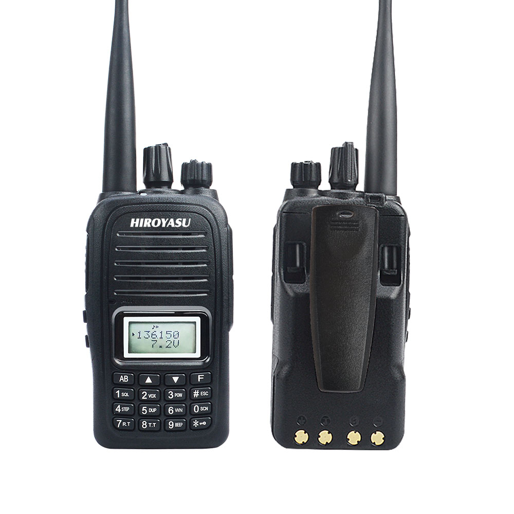 Dual Band WALKIE TALKIE VHF UHF IP67 WATERPROOF VOX TALKIE WALKIE With Scrambler And Roger Beep Ham Radio