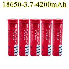 100% neue Original 18650 3,7 V 4200 mAh 18650 Lithium-Akku Für GTL EvreFire Taschenlampe batterien