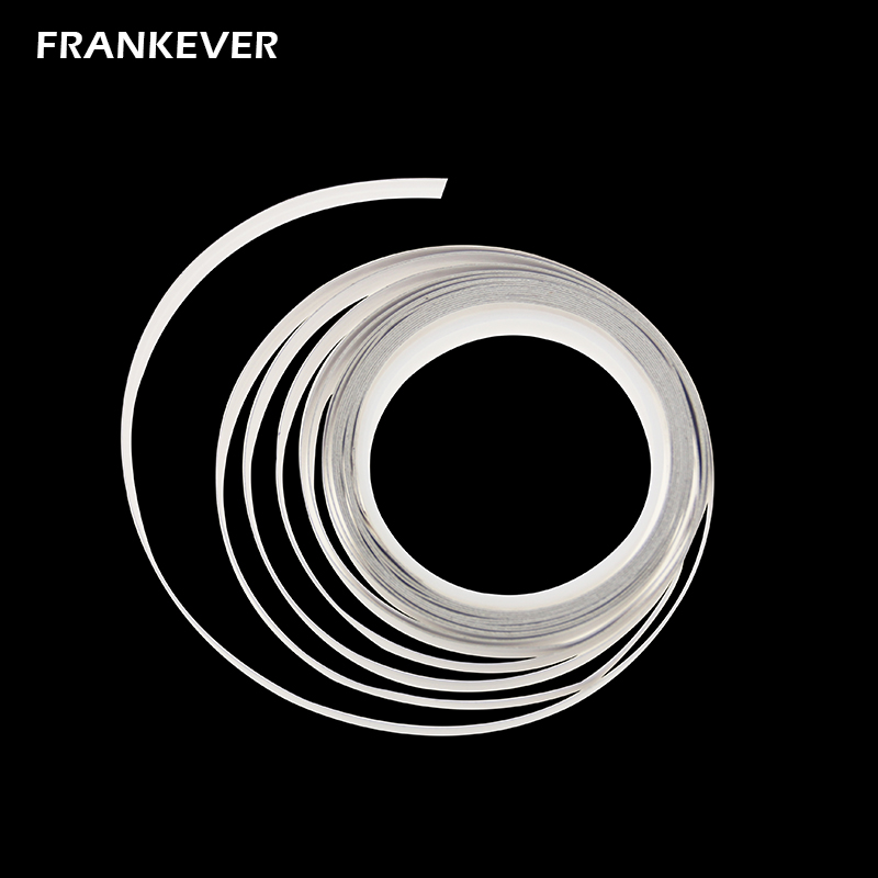FrankEver Super Thin Flat Cable Audio Speaker Wire Invisible Led Cable 23 AWG Pure Copper 2 Conductor with Adhesive Backing