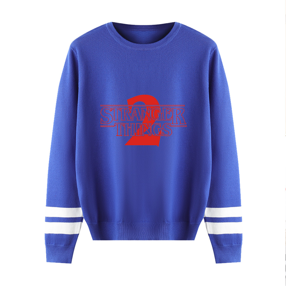 Stranger Things O-Neck Sweater Men/women Autumn Winter Hot New Fashion Long Sleeve Warm Casual Knitted Casual Sweater Top